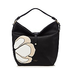 Fiorelli - Black 'Nina' applique shopper bag