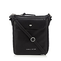 Fiorelli - Black 'Weber' leatherette cross body bag