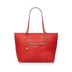 Kangol - Bright red shopper bag