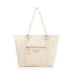 Kangol - Cream shopper bag