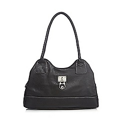 Kangol - Black lock shoulder bag