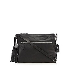Clarks - Black 'Tabley Park' cross body bag