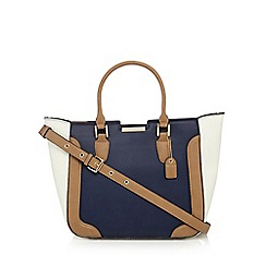 Clarks - Navy mini magnolia grab bag