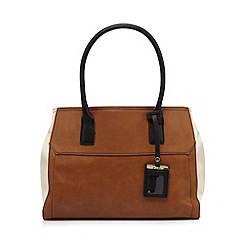 Clarks - Tan 'Matilda Ellie' tote bag