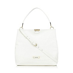 Valentino - White 'Cognac Sacca' shoulder bag