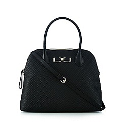Valentino - Black bow grab bag