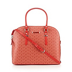 Valentino - Dark pink 'Summer Valentine' shopper bag