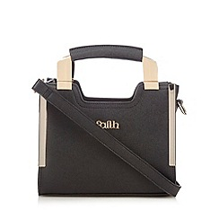 Faith - Black textured mini grab bag