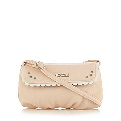 Floozie by Frost French - Light pink scalloped trim cross body bag
