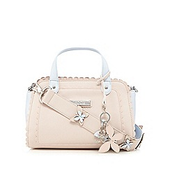 Floozie by Frost French - Pink and grey small handbag