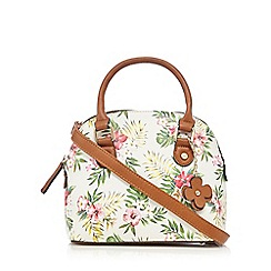 Call It Spring - Multi-coloured 'Emrops' floral mini dome tote bag