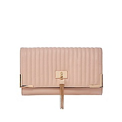 Call It Spring - Light pink 'Bok' quilted clutch bag