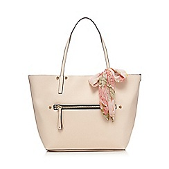 Call It Spring - Cream 'Exit' shopper bag