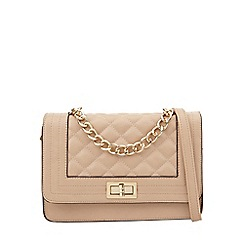 Call It Spring - Cream quilted cross body bag