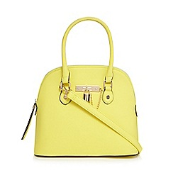 Call It Spring - Yellow 'Erroma' dome bag