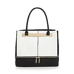 Call It Spring - White 'Delphi' large tote bag