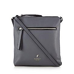 Fiorelli - Grey 'Logan' casual cross body bag