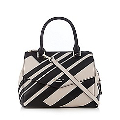 Fiorelli - Black 'Mia' striped grab bag