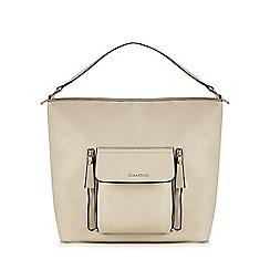 Kangol - Cream front pocket shoulder bag
