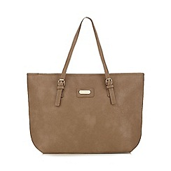 Kangol - Taupe large shopper bag