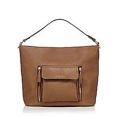 Kangol - Tan front pocket hobo bag