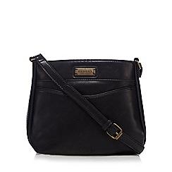 Kangol - Black front pocket cross body purse