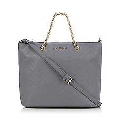 Versace Jeans - Grey logo tote bag