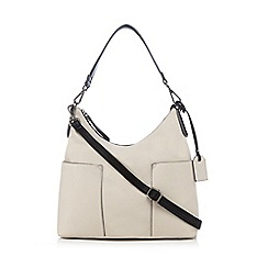 Clarks - Off white 'Magana' shoulder bag