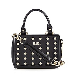 Faith - Black patent studded box grab bag