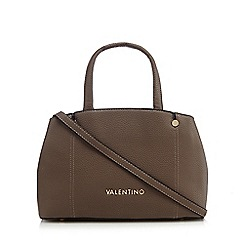 Valentino - Grey 'Colosseo Bauletto' grab bag
