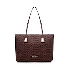Valentino - Dark red 'Partenope' tote bag