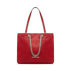 Valentino - Red 'Avantgarde' shopper bag