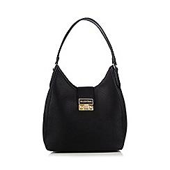 Valentino - Black 'Tempio Sacca' faux-leather shoulder bag
