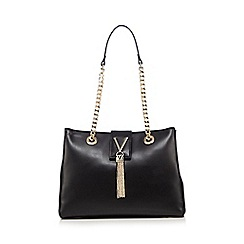 Valentino - Black 'Diva' shopper bag