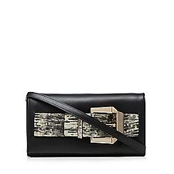 Cavalli Class - Black glam belt clutch bag