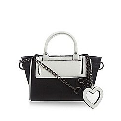 H! by Henry Holland - Black and white cross body bag