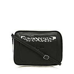 H! by Henry Holland - Black and white colour block cross body bag