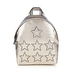 H! by Henry Holland - Gold studded stars backpack