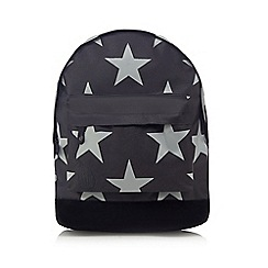 Mi-Pac - Black star print 'Classic' backpack