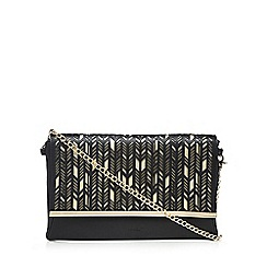 LYDC - Black cut-out clutch bag