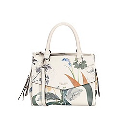 Fiorelli - White botanical print Mia grab bag