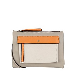 Fiorelli - Grey mix Alexa Contemporary flat cross body bag