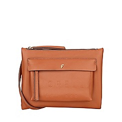 Fiorelli - Tan Alexa Contemporary Flat Cross Body Bag