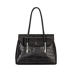 Fiorelli - Black Carlton Flapover Tote Bag