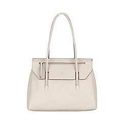 Fiorelli - Misty grey Carlton flapover tote bag