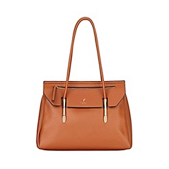 Fiorelli - Tan Carlton Flapover Tote Bag