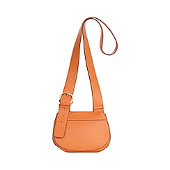 Fiorelli - Princeton orange Georgia saddle cross body bag