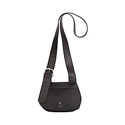 Fiorelli - Black casual mix Georgia saddle cross body bag