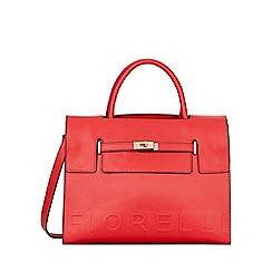 Fiorelli - Red Harlow Deboss Tote Bag