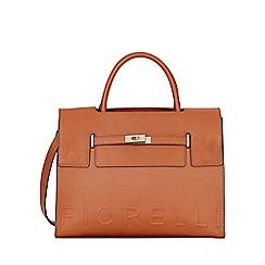 Fiorelli - Tan Harlow Deboss Tote Bag